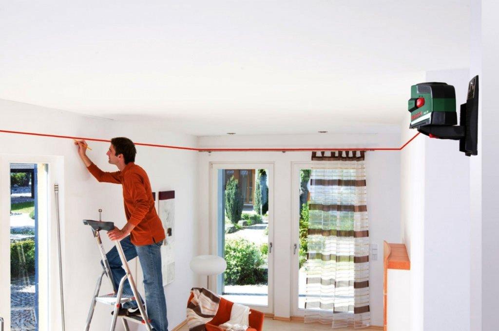 разметка потолка под гипсокартон