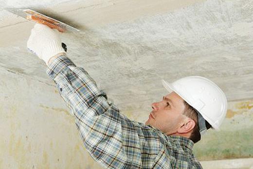 как заделать трещину на потолке из гипсокартона