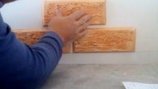 декоративный камень из гипсокартона своими руками