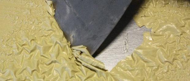 как снять водоэмульсионную краску с гипсокартона