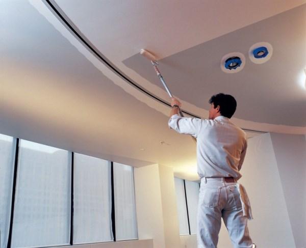 чем отделать потолок из гипсокартона