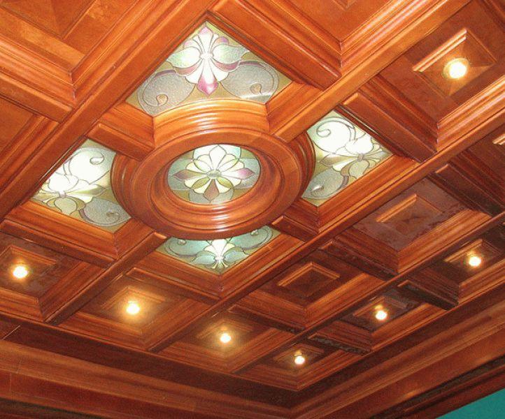 кессонные потолки из гипсокартона своими руками