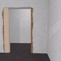 Уменьшение дверного проема с помощью гипсокартона