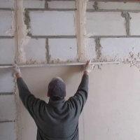 Отделка стен из газобетона гипсокартоном