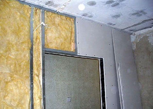 как укрепить стену из гипсокартона
