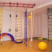 Установка шведской стенки на гипсокартон