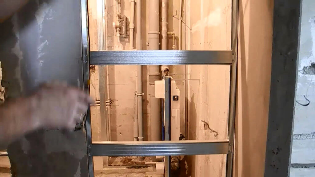 как заделать дверной проем гипсокартоном