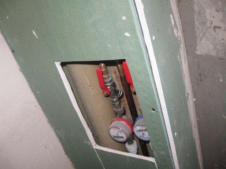 закрыть трубы в туалете гипсокартоном