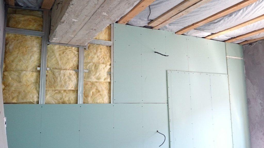 утепление стен под гипсокартон