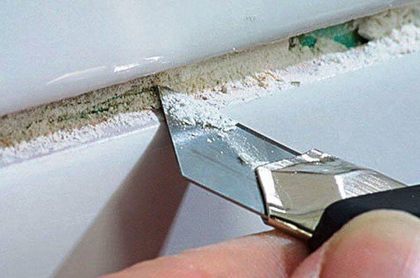 как аккуратно снять плитку с гипсокартона