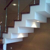 Обшивка лестницы гипсокартоном