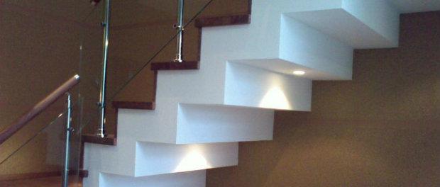 как обшить лестницу на металлокаркасе гипсокартоном