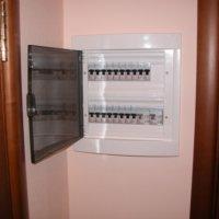 Монтаж электрощита в гипсокартон
