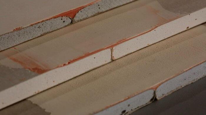 как обрезать стену из гипсокартона