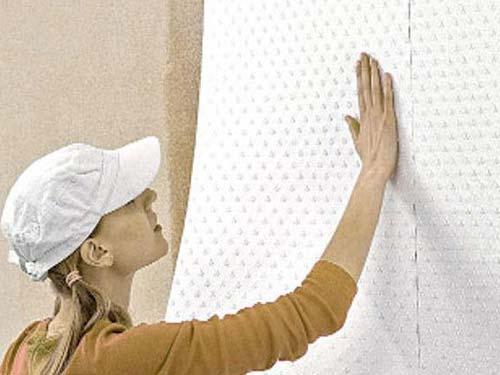 как правильно клеить стеклохолст на гипсокартон