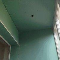 Как отделать балкон гипсокартоном