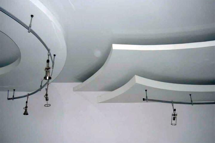 многоуровневый потолок из гипсокартона своими руками