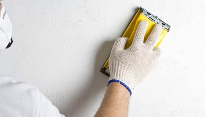 отделка гипсокартона под покраску